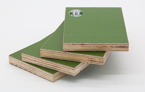 冰林牌绿覆膜板